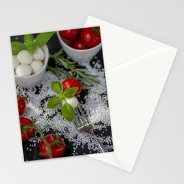 Italian appetizer Stationery Cards