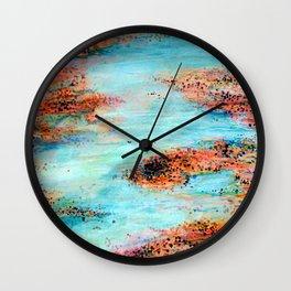 Salt Flats 1 Wall Clock