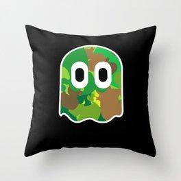 Camo Blinky Throw Pillow