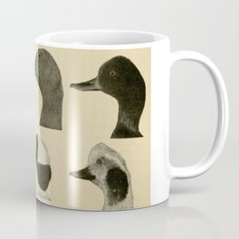 Vintage Duck Heads Coffee Mug