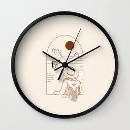 Lost Pony - Rustic Wall Clock