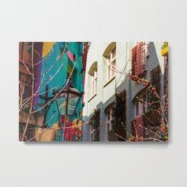 Colorful London Buildings Metal Print