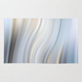 Abstract modern wavy background, elegant wave illustration Rug