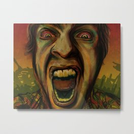 We hungry Metal Print