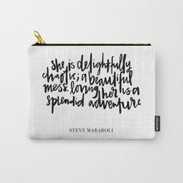 delightfully chaotic Carry-All Pouch