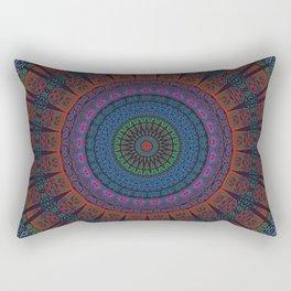 Night Garden   Indian Mandala Rectangular Pillow