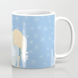 Unicorns. Mom and baby Coffee Mug