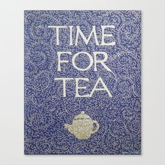 Time For Tea 2017 Canvas Print
