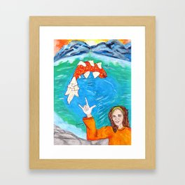 Hey Jude, this One's for You... Framed Art Print
