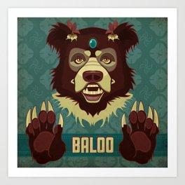Baloo Art Print
