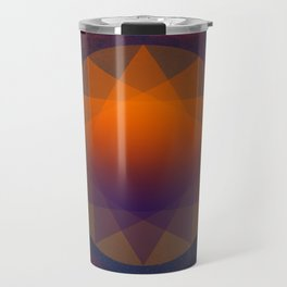 Merkaba, Abstract Geometric Shapes Travel Mug