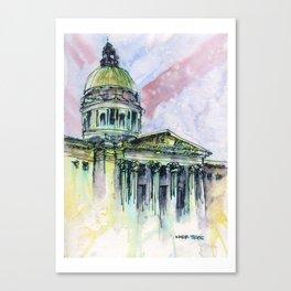 20150815 National Art Gallery Canvas Print
