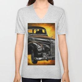 Humber Pullman Limousine Unisex V-Neck