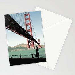 Vertigo Bridge Illustration Stationery Cards