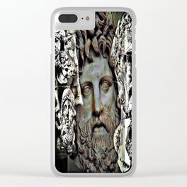 Phillip of Macedon series 6 Clear iPhone Case