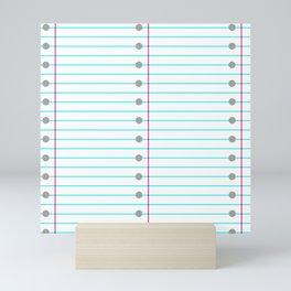 Binder Paper Mini Art Print