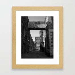Old Pabst Brewery Framed Art Print