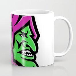 Goblin Head Mascot Coffee Mug