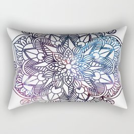 Universe Mandala Rectangular Pillow