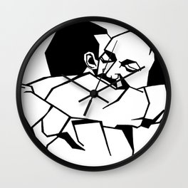 He's my brother Wall Clock