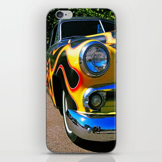 Up in flames iPhone & iPod Skin