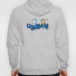 Doraemon Typo Hoody