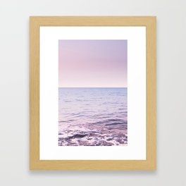 Blissful Ocean Dream #2 #pastel #wall #decor #art #society6 Framed Art Print