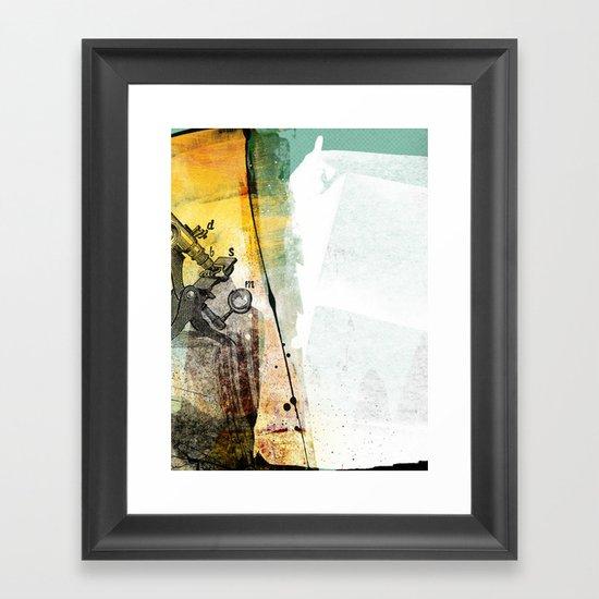 science Framed Art Print