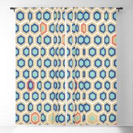 Digital Honeycomb Blackout Curtain