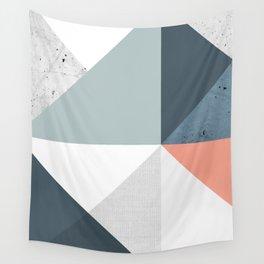 Modern Geometric 12 Wall Tapestry