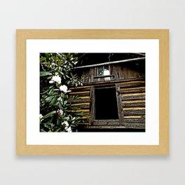 Smokehouse Framed Art Print