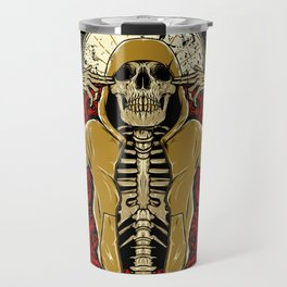 Hip Hop and Roses Travel Mug