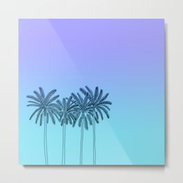 California summer vibes Metal Print