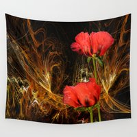 passion Wall Tapestries featuring Passion by LudaNayvelt