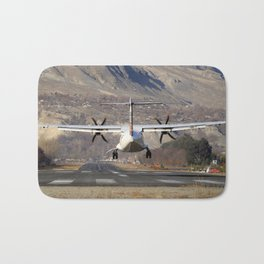 ATR ATR-42-500 Aviation Scenic Dangerous No way out Landing aircraft Bath Mat