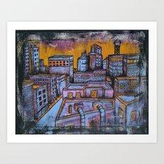 Brooklyn Nocturne 5 Art Print