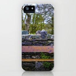 Cemetery Bench iPhone Case