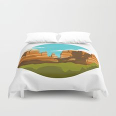 Canyons Duvet Cover