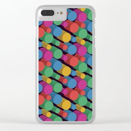 3D X Pipes II Clear iPhone Case