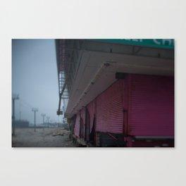 Pink Gates, After Sandy Canvas Print