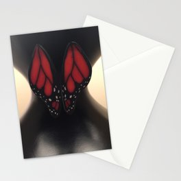Butterfly Waist Stationery Cards