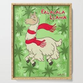 Falalala Llama! Serving Tray