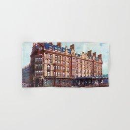 Vintage St Enoch railway station hotel Glasgow Hand & Bath Towel