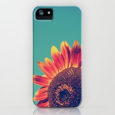 Summer Sunflower Slim Case iPhone (5, 5s)
