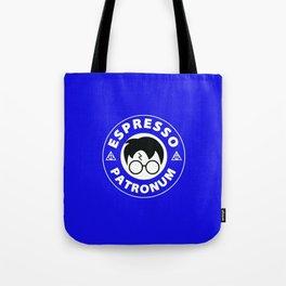 Espresso Patronum Blue Tote Bag