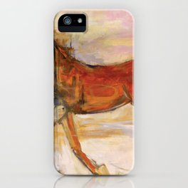 Horse Riding On The Go iPhone Case