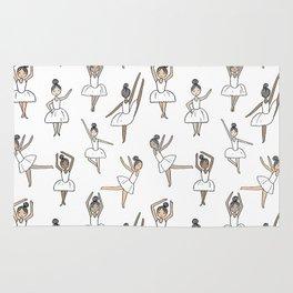Ballet dancers cute girls nursery kids room gifts for dance lovers Rug