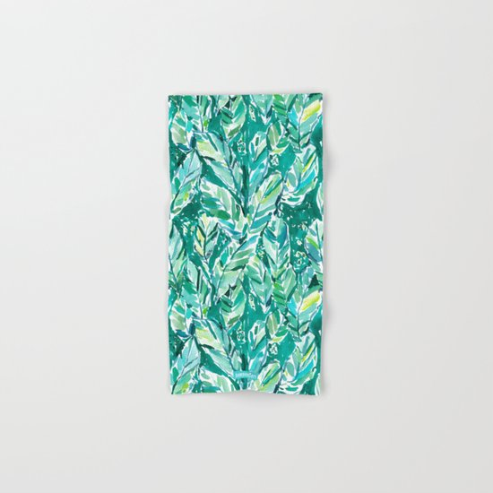 BANANA LEAF JUNGLE Green Tropical by barbraignatiev