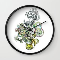 bouquet 2 Wall Clock