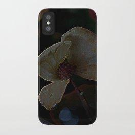 dark dogwood iPhone Case